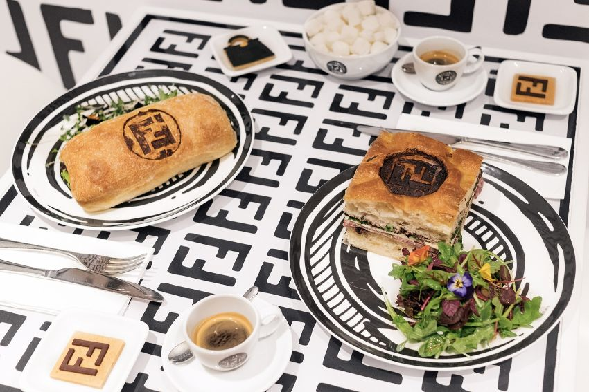 Fendi Caffe - Fine Dining Experience At Harrods by Joshua Vides