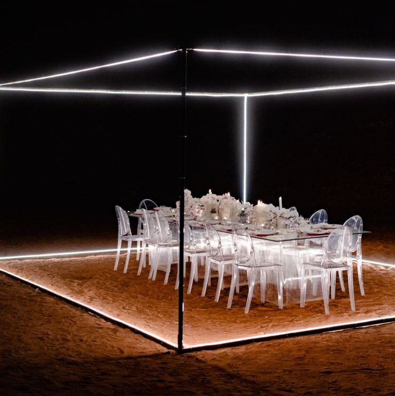 Invisible Dining Room In The Valley of the Moon By Nafsika Skourti