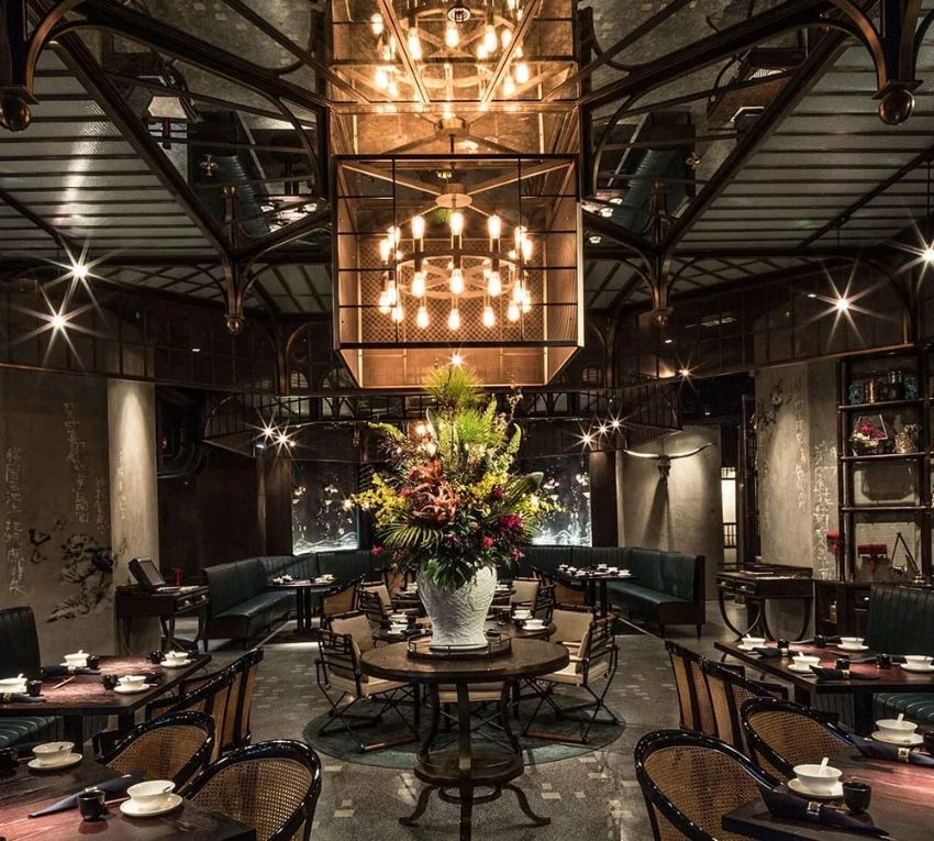 Mott 32 Modern Restaurant At The Venetian Resort - Behind the Design
