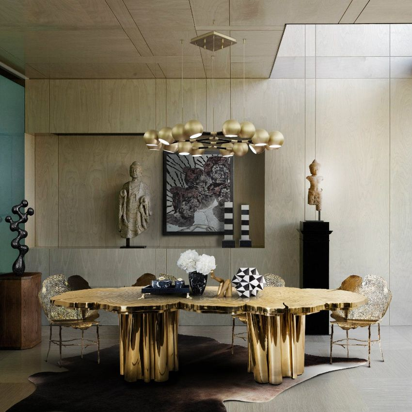 Round Table Trend - Modern Dining Tables With Curves To Inspire You