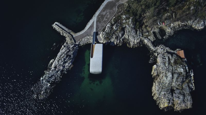 Under – Europe's First Underwater Restaurant by Snøhetta